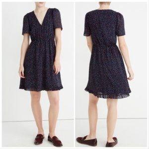 Madewell Flutter-Sleeve Ruffle-Hem Sugar Dress